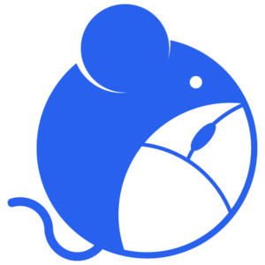 ARM logo with an animal mouse and a computer mouse.